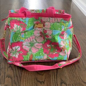 Lily Pulitzer Collapsable Cooler